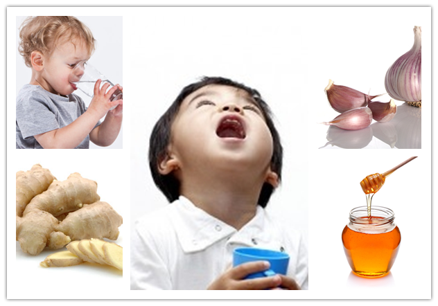 Home Remedies for Sore Throat in Kids