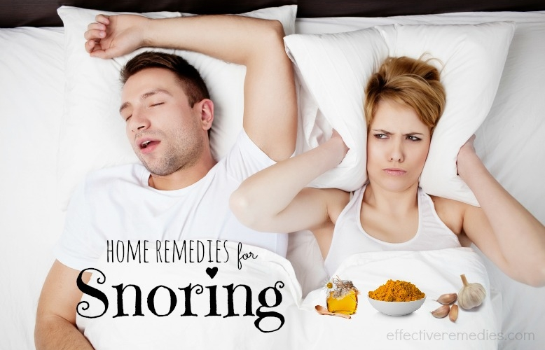 The Best Home Remedies for Snoring