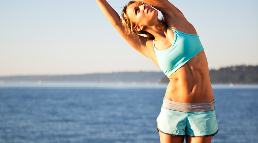 12-Second Exercise I Recommend For A Flat Belly + Healthy Spine