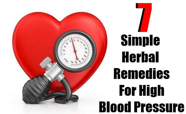 7 Simple Herbal Remedies for High Blood Pressure